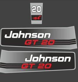 Johnson/Evinrude 20 PK sticker set