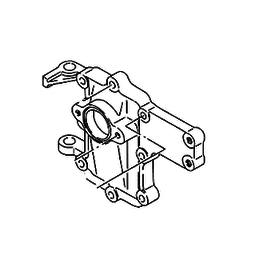 Suzuki 5/6 PK 2-Takt 2 Cilinder Inlet Case  (13111-98111-02M)
