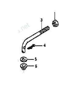 Suzuki 5/6 HP 2- Stroke 2 Cylinder Link  (19171-98101)