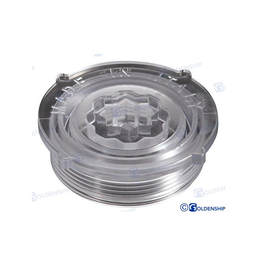 Polycarbonate cap for water filter