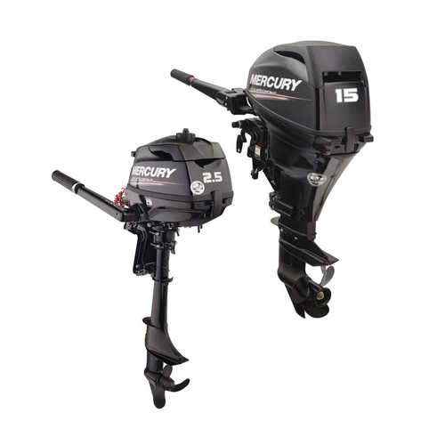 New Mercury 4-stroke Outboard Engines