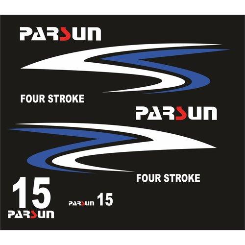 Parsun Outboard Motor Sticker Set