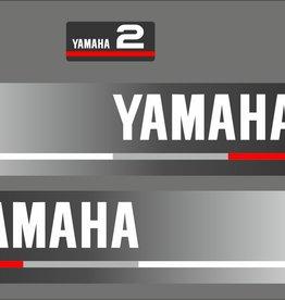 Yamaha 2 PK bouwjaar 1990 Sticker set