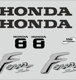 Honda 8 HP year range 2003 sticker set