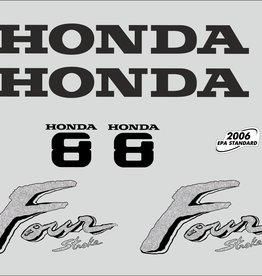 Honda 8 PK  bouwjaar 2003 sticker set