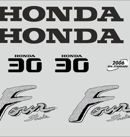 Honda 30 HP year range 2003 sticker set