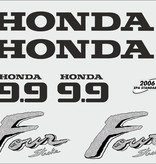 Honda 9.9 PK  bouwjaar 2003 sticker set