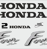 Honda 2 HP year range 2003 sticker set