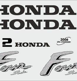 Honda 2 PK  bouwjaar 2003 sticker set