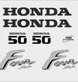 Honda 50 PK  bouwjaar 2003 sticker set