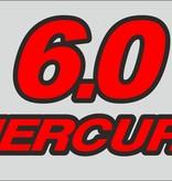 Mercury 6 PK sticker set