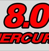 Mercury 8 PK sticker set
