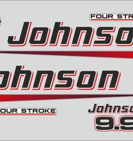Johnson/Evinrude 9.9 PK bouwjaar 2002-2006 sticker set