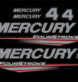 Mercury 4 HP fourstroke year range 2015- 2019 sticker set