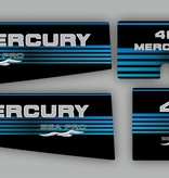 Mercury 40 HP Sea pro year range 1997 sticker set