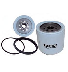 RecMar Mercruiser  Diesel Fuel Filter D7.3/270 Bravo (35-808275, 808275)