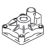 Johnson Evinrude Johnson Evinrude Water Pump Case 25 HP (5036899)