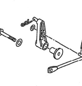Yamaha 25HP 4Stroke Shift Rod Lever (6BL-44125-00-00)