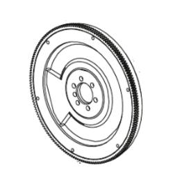 Mercruiser Mercruiser Flywheel assembly 8M0074930/8M0104914