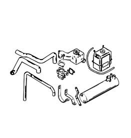 Mercury Mercury Mercruiser Closed Cooling Kit Fits MCM 120, 140, 2.5L & 3.0L/LX (1983‑2016) (61086A11)