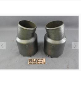 OMC Volvo / OMC Cobra SET Exhaust Pipe Tube Reducer elbow 912317 0912317