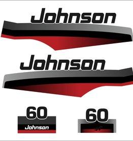 Johnson/Evinrude 60 HP  sticker set