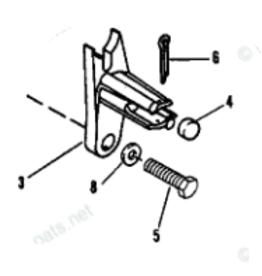 Mercruiser Mercruiser Shift Plate RETAINER KIT BRAVO 865434A02
