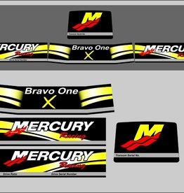 Mercruiser bravo One x Racing geel