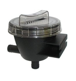 Wierpot Koel water filter tot 300 l/h slang 3/4″ tot 1 1/2″