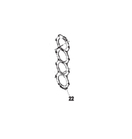 Mercury Mercury / Force Cylinder head Gasket (8246152)