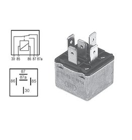 Volvo relay 12V, 30 Amp. MD22, 63, 71, 73, 74 30, 40, 61, 70 y V8 1504952