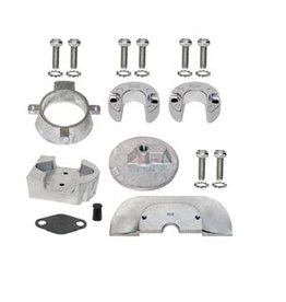 Mercruiser Aluminum & Magnesium & Zinc Anode Kits for Sterndrives Alpha One Gen II (888756Q01, 888756Q03)