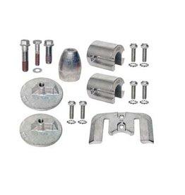 Mercruiser Aluminum & Magnesium Anode Kits for Sterndrives Bravo III +2004 (888761Q02)
