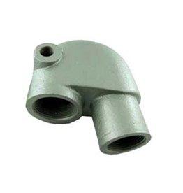 Yanmar Iron Exhaust Elbow 1GM, 2GM, 3GM, 1GM10, 2GM10, 3GM30, 3HM, 3HM35F 124070-13520