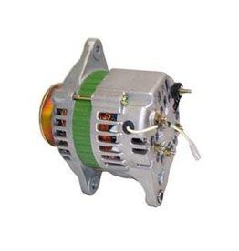 Yanmar Dynamo 12V 40A. Internal regulator with single serpentine pulley. 119836-77200 119836-77201