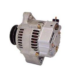 Protorque Yanmar Alternator 12V 80A. Internal regulator with double pulley. 119773-77200