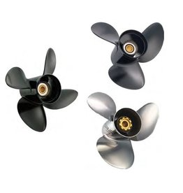 Solas Suzuki Propeller DT 150 t / m 225 hp 2-stroke 15 tooth spline 16 to 24 pitch 3/4 blades Aluminum / stainless steel