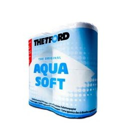 THETFORD Thetford Aqua Soft Toiletpapier / Vlug oplossend toilet papier