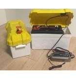 Electromotor / fluistermotor vaarklaar pakket