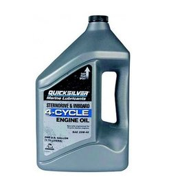MerCruiser 25W-40 3.8 liter original factory oil for all engines