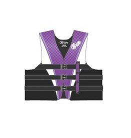 Obrien 3B Pro Ce Nylon Vest Purple - L (OB2112115)