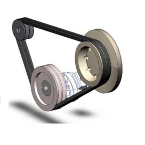 Mercruiser V-snaren / V-belts /aandrijfriem