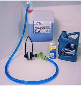 Inboard motor winterklaar maken Flush Kit Incl Fogging oil en 10L koelvloeistof