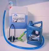 Inboard motor winterklaar maken flush Kit Incl 10 Liter koelvloeistof