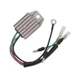 RecMar Yamaha/Mercury/Parsun Gelijkrichter Assy F6 1 cilF8/9.9/15 +15/25 seapro Mercury 8/9.9 209 cc6BX-81960-00 / 6J8-81960-00 / 853811008