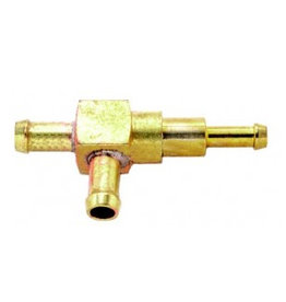 Benzine of olie slang Racor koppeling