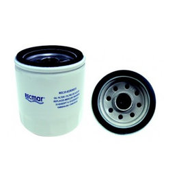 RecMar Mercury / Yamaha / Selva Oil filter 150 to 250 HP (69J-13440-00, 69J-13440-01, 69J-13440-03, 35-822626Q15, 35-822626T7)