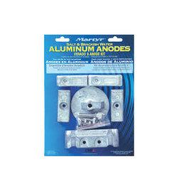 Martyr Anode kit Verado 6 cyl aluminum & magnesium