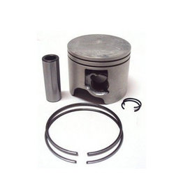 (18) Yamaha Piston kit (0.50MM o/s) 100A/AETO - 100TLR - 115AEL/B/BETO/BE-TR/C/CEO/CETO C115TLR - 130B/BETO - 130TLR/TLRZ - 140A - 140B 6R5-11646-11