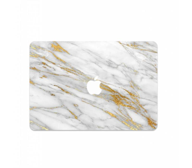 GOLDEN RUSH (laptop sticker) - MIM